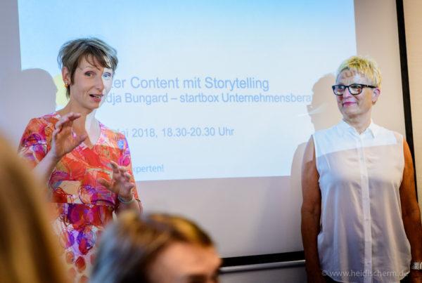 Content mit Storytelling, Foto Heidi Scherm