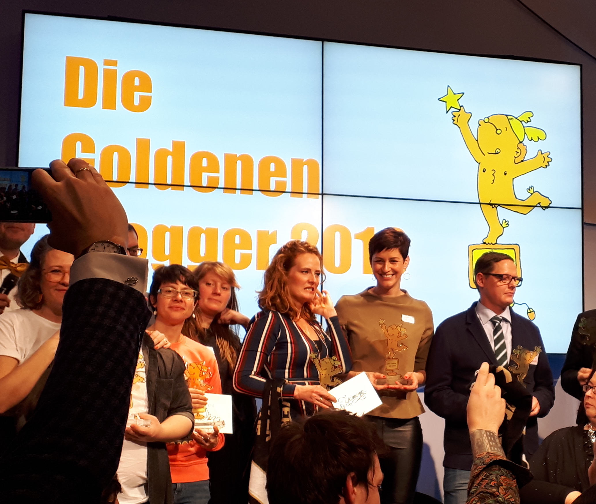 GoldeneBlogger 2019, Preistraeger