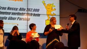 Frau Nessy: Goldene Blogger 2019