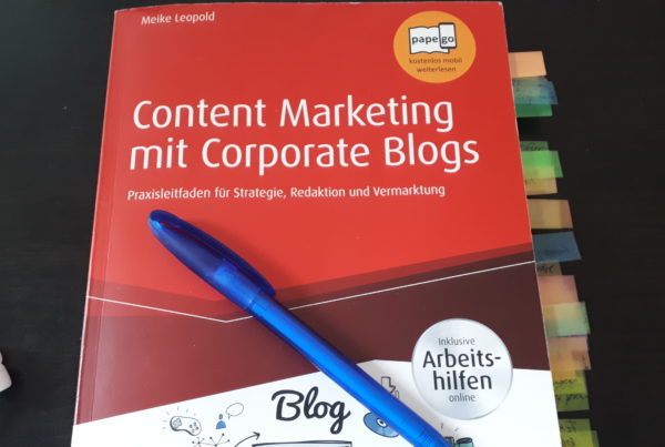 Rezension_Content-Marketing-mit-Corporate-Blogs_Meike-Leopold-Cover