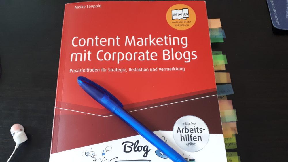 Rezension_Content-Marketing-mit-Corporate-Blogs_Meike-Leopold-Cover