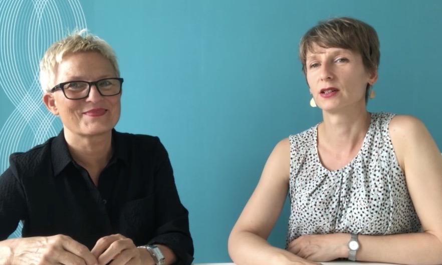Brigitte Windt und Nadja Bungard, Foto: Brigitte Windt